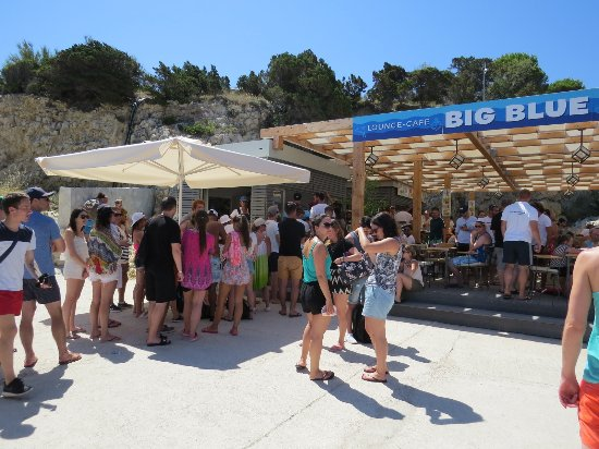 Bisevo, Croacia: チケット売り場・ バーがあって軽食ができます