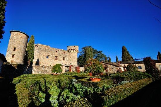 Gaiole in Chianti, อิตาลี: il castello dal giardino