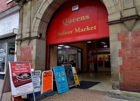 Queens Indoor Market, Rhyl