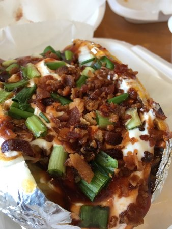Vidalia, LA: Baked potato - Loaded