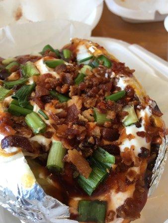 Vidalia, Луизиана: Baked potato - Loaded