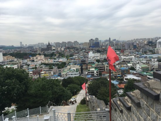 Forteresse de Hwaseong : View from fortrees