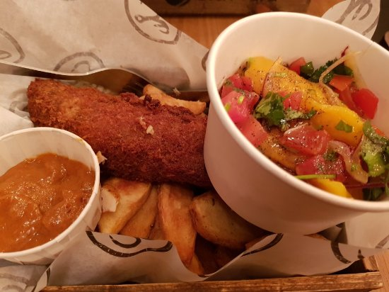 Fish and chips with a twist