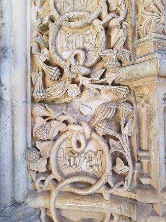 Alcobaça, Portugal: Intricate details