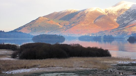 Borrowdale, UK: room 314 sunrise view