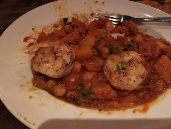 DeWitt, NY: Jan 18 Tagine with Shrimp - SO GOOD!