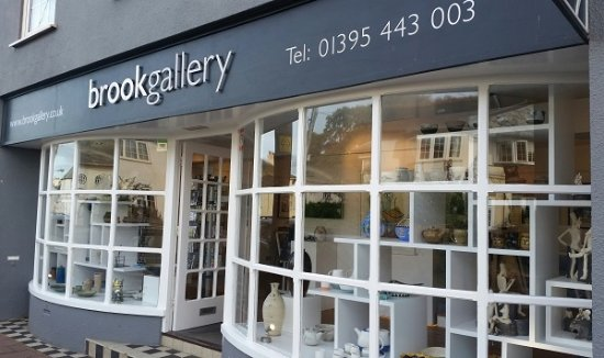Brook Gallery is a highly respected, independent art gallery in Budleigh Salterton.