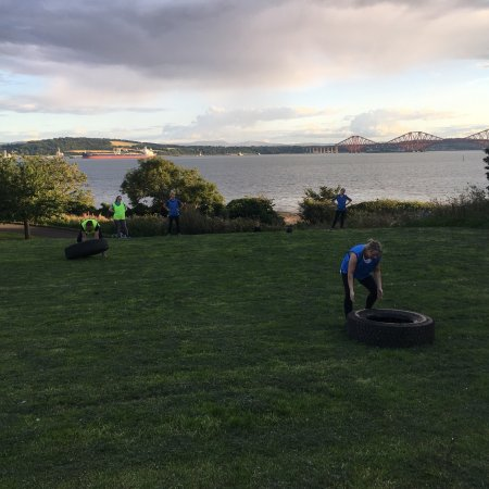 Outdoor fitness Dalgety Bay fife
