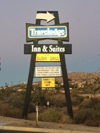 ‪‪Travelodge Inn & Suites by Wyndham Yucca Valley/Joshua Tree‬: Sign‬