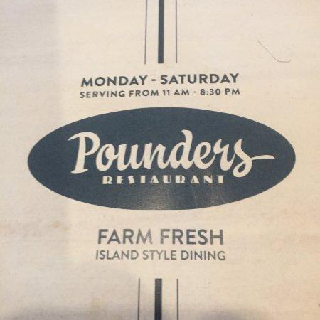 תמונה מPounders Restaurant