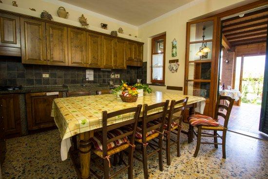 Nonna Stella: La cucina degli ospiti