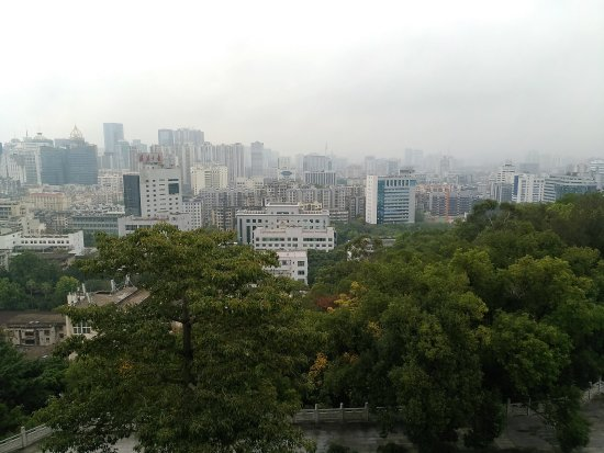 Pingshan Mountain: 屏山頂俯瞰福州市區