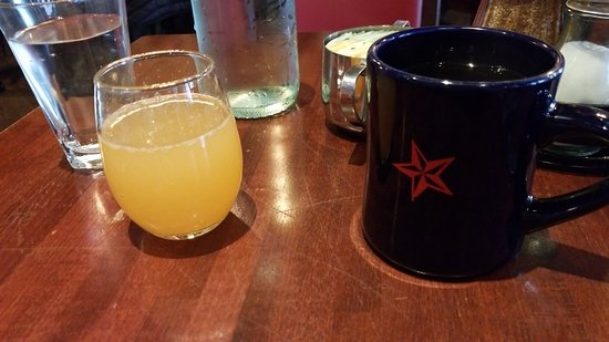Commissary: Mimosa and coffee