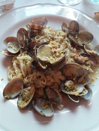 Arche' Restaurant: Pasta con vongole e pistacchi