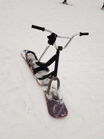 תמונה מCentSix Snowscoot