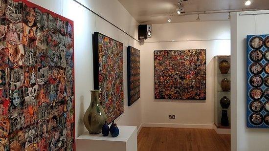 Budleigh Salterton, UK: Brad Faine Exhibition