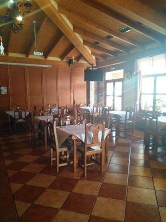 Galera, Spain: Interior restaurante