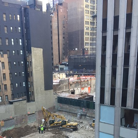 Sanctuary Hotel New York: View of building site