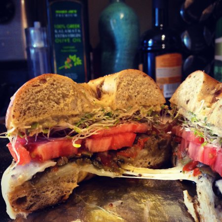 Granville, OH: At SteamRoller vegetarians get far more than a salad sandwich! try the Herbivore.