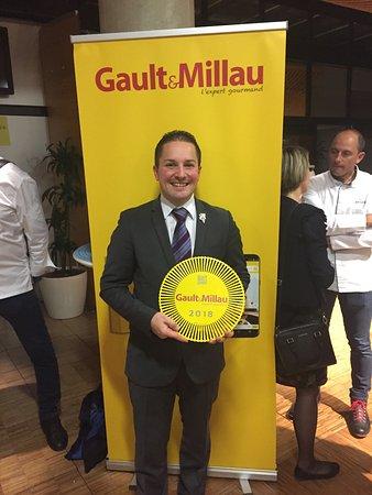 Le Gindreau: élu sommelier de l'année 2018 par le guide Gault et Millau