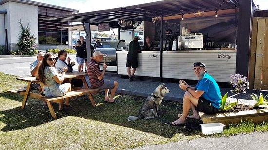 Coopers Beach, Νέα Ζηλανδία: Dog friendly