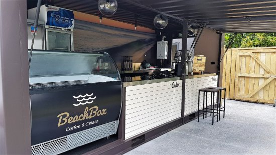 Coopers Beach, Yeni Zelanda: BeachBox Front