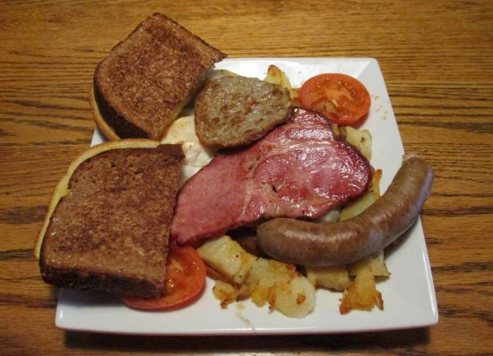 Spokane Valley, WA: Full Irish Breakfast...