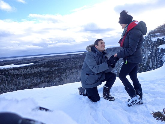 Manitoulin Island, Canadá: I SAID YES!