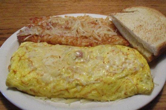 Spokane Valley, Etat de Washington : Corned Beef Omelet...