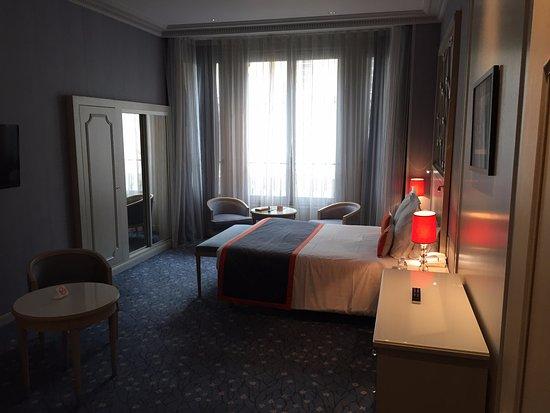 Hôtel Château Frontenac : Suite's sleeping area-Chateau Frontenac