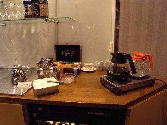 Hotel Rivoli Jardin: ロビー階24時間無料カフェスペース