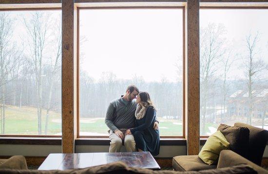 Bellaire, MI: Inside the Cedar Lodge