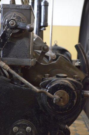Selb, Germany: steam motor