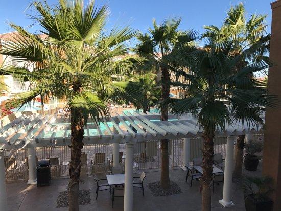 La Quinta, CA: View from room 223 balcony