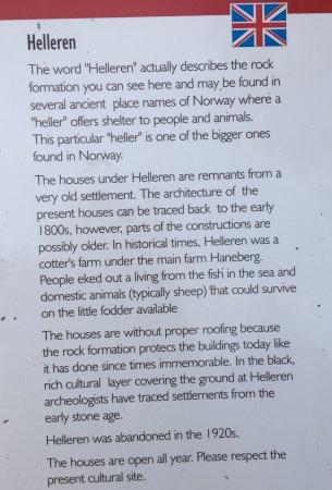 Sokndal Municipality, Norway: Helleren