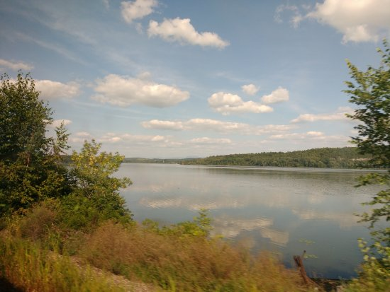 View From The Train In Summer Picture Of Hudson Valley New York