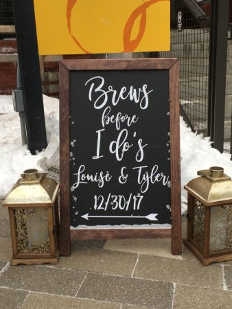 Cambridge Brewing Company: Homemade Sign (etsy) In Kendall Sq