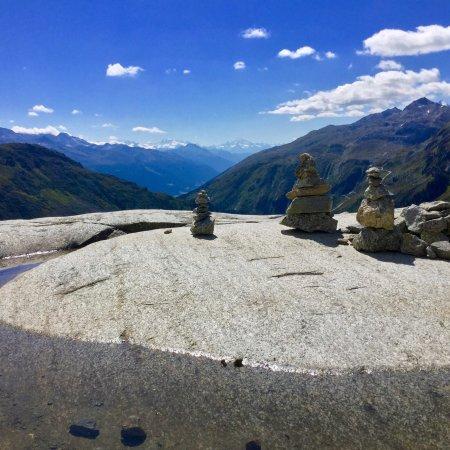 Gletsch, سويسرا: Rhone Glacier