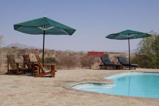 Usakos, Namibia: Poolbereich
