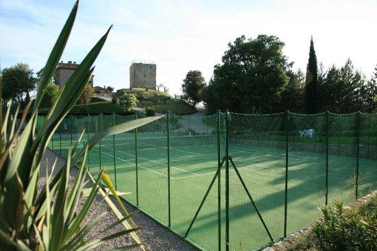 Monte Santa Maria Tiberina, Italy: Campo da tennis