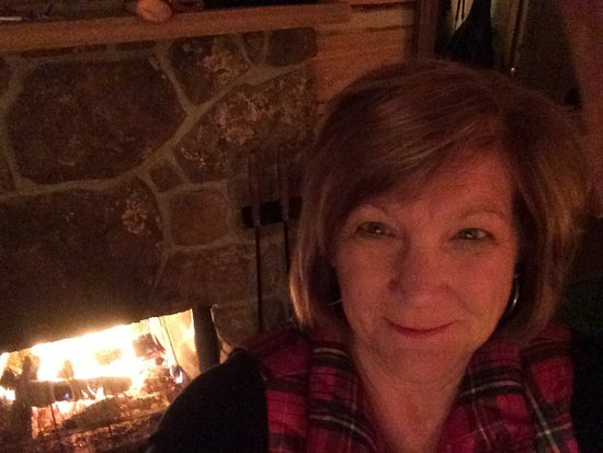 C Lazy U Ranch: All wood fireplace in your cabin! No chopping just open door all firewood ready to go.