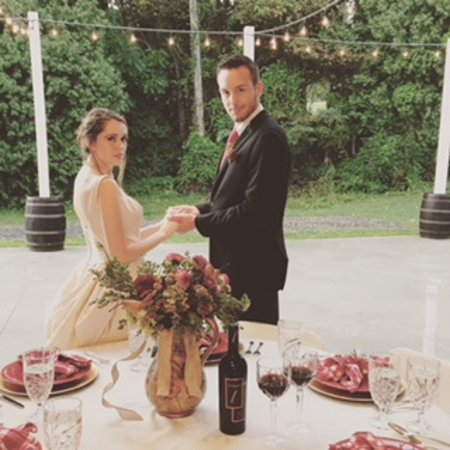 Lovingston, Wirginia: Orchard House weddings are picture-perfect in every way....