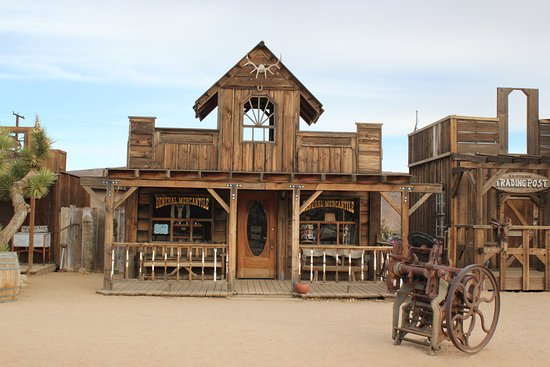 Pioneertown, CA: take time to walk around & check out all the structures