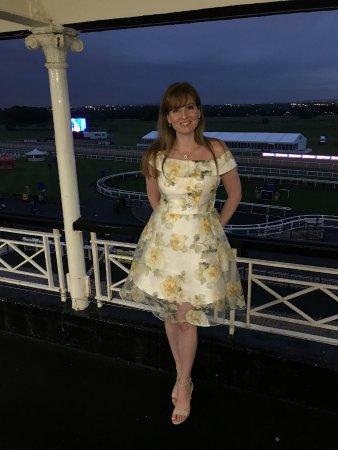 Newcastle Racecourse: At the balcony