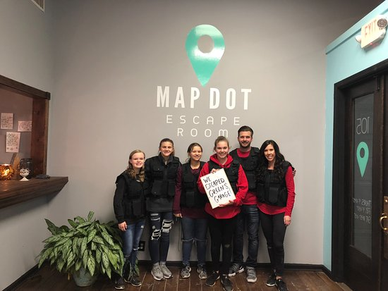 ‪Map Dot Escape Room LLC‬