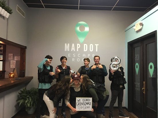 Map Dot Escape Room LLC