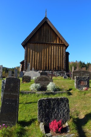 Tokke Municipality, Norway: Eidsborg Stave Church
