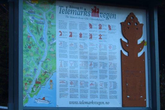 Κρίστιανσαντ, Νορβηγία: Telemarksvegen