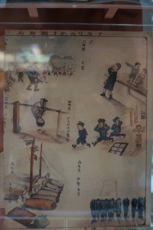 The Osamu Tezuka Manga Museum: 自筆の絵