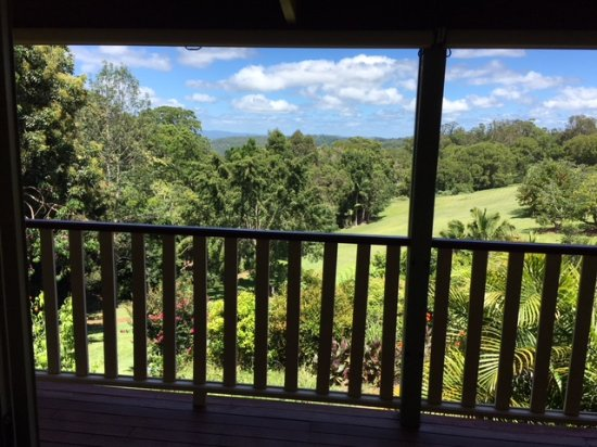 Flaxton, Australie : View from the Reed Room